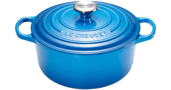 Le Creuset Ronde Braadpan 20 cm Marseilleblauw