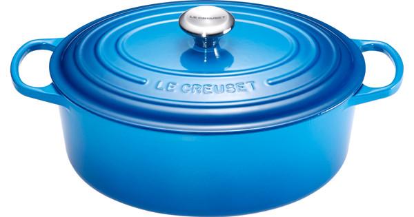 Le Creuset Ovale Braadpan 29 cm Marseilleblauw
