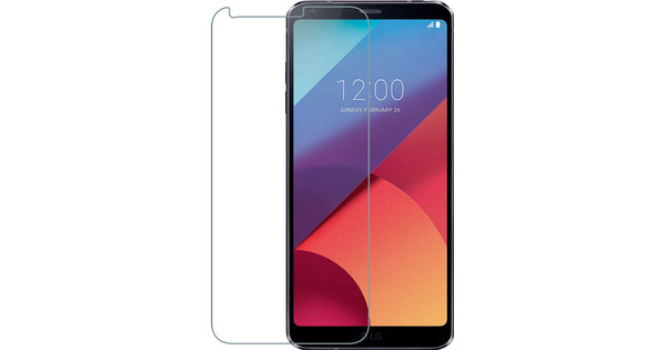 Azuri Tempered Glass LG Q6 Screen Protector Glass Duo Pack