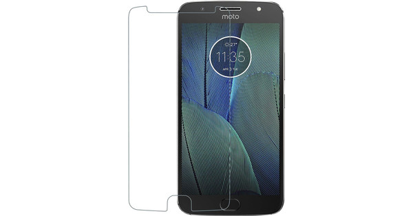 Azuri Motorola Moto G5S Plus Screen Protector Tempered Glass Duo Pack