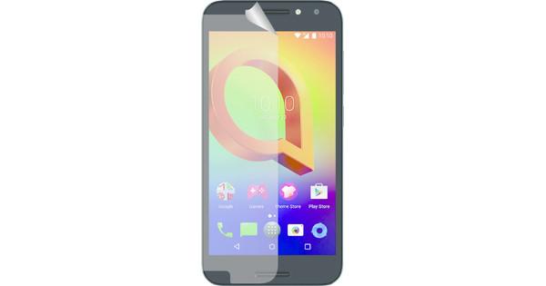 Azuri Alcatel A3 Screenprotector Plastic Duo Pack
