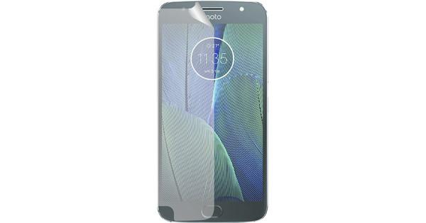 Azuri Motorola Moto G5S Plus Screen Protector Plastic Duo Pack