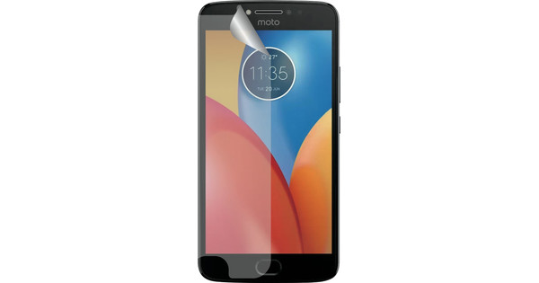 Azuri Motorola Moto E4 Screenprotector Plastic Duo Pack