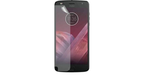 Azuri Motorola Moto Z2 Play Screen Protector Plastic Duo Pack