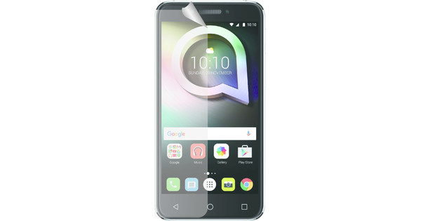 Azuri Alcatel Shine Lite Screenprotector Plastic Duo Pack