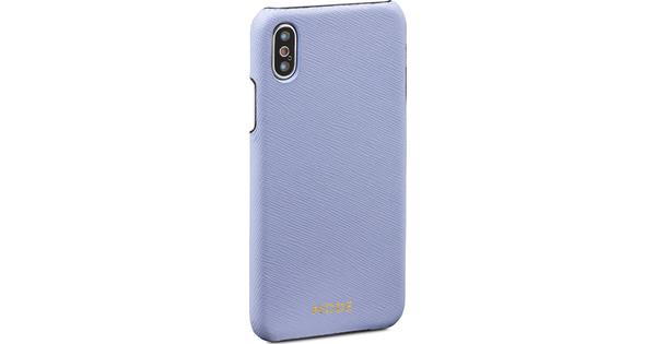 DBramante1928 London Apple iPhone X Back Cover Blue