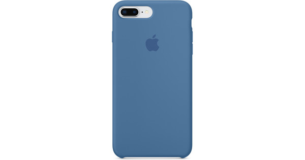 Apple iPhone 7/8 Silicone Back Cover Black - Coolblue - Before 23