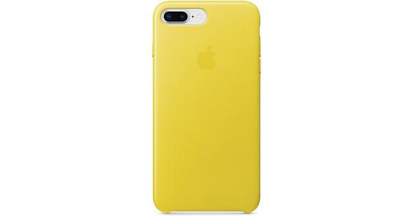 Apple iPhone 7 Plus/8 Plus Leather Back Cover Lentegeel