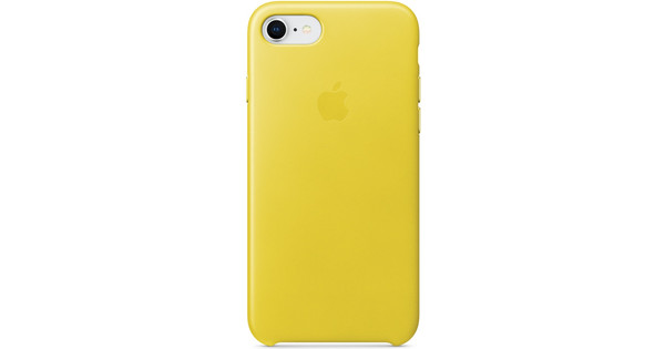 Apple iPhone 7/8 Leather Back Cover Spring Yellow