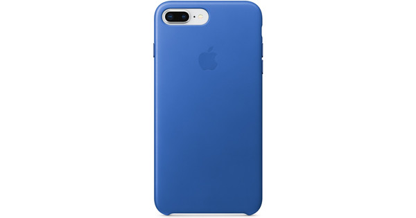 Apple iPhone 7 Plus/8 Plus Leather Back Cover Electric Blue