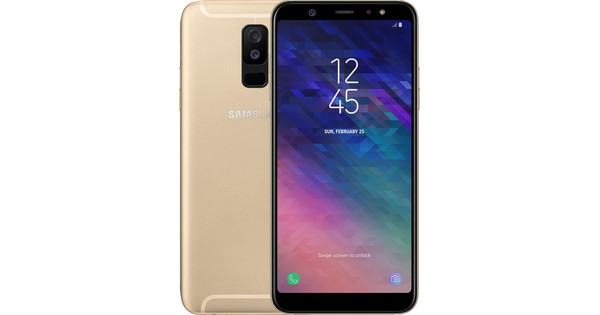 Samsung Galaxy A6 Plus (2018) Goud