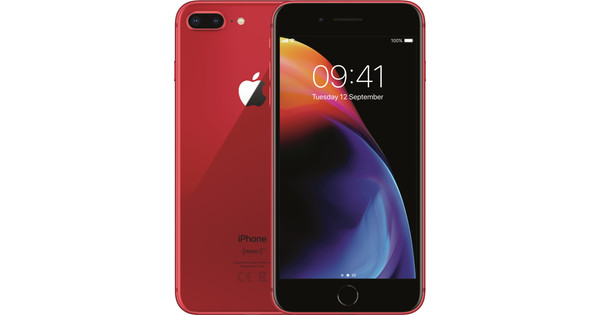 3fb707d9d6df Apple iPhone 8 Plus 64GB RED - Coolblue - Before 23 59