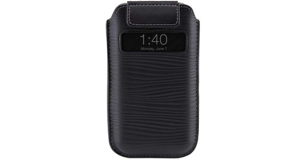 Belkin Verve Leather Pull Case Black Apple iPhone 4