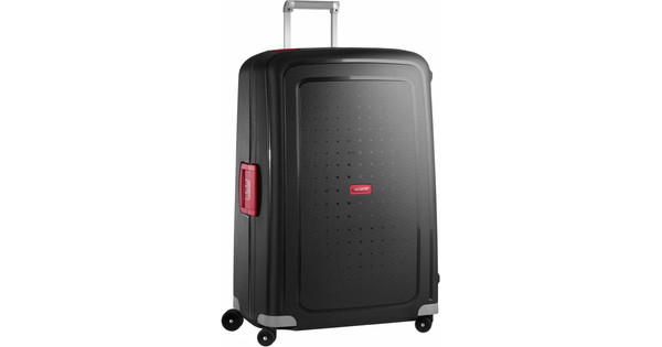 Samsonite S'Cure Spinner 81cm Black/Red