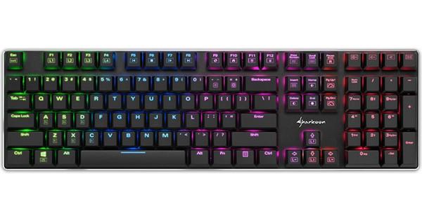 Sharkoon PureWriter RGB Red Gaming Toetsenbord QWERTY