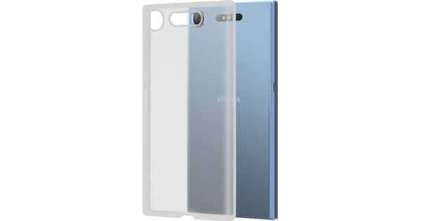 Azuri Glossy TPU Sony Xperia XZ1 Back cover Transparent
