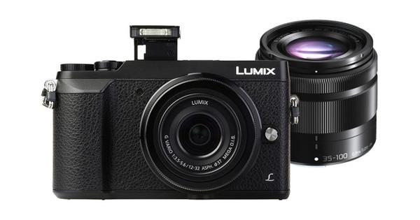 Panasonic Lumix DMC-GX80 Zwart + 12-32mm + 35-100mm