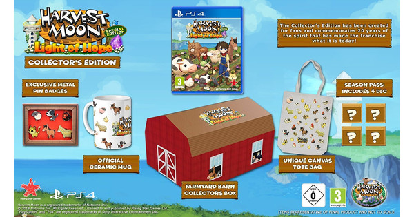 Harvest Moon - Light of Hope Collector's Edition Switch