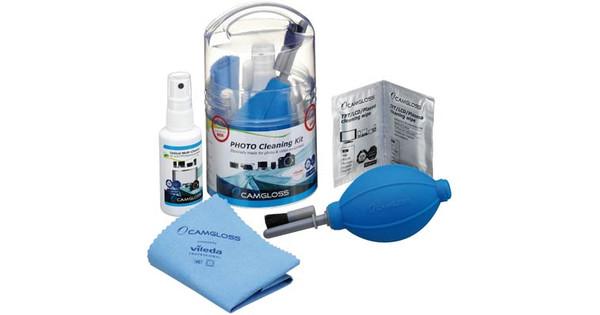 Camgloss Photo Cleaning Kit + kaartlezer + statief