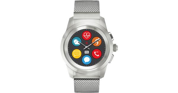 MyKronoz ZeTime 44mm Smartwatch Elite Silver