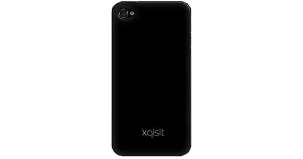 Xqisit Silicone Case Black Apple iPhone 4