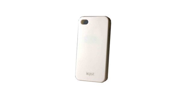 Xqisit Silicone Case White Apple iPhone 4