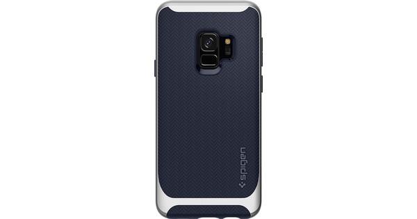 Spigen Neo Hybrid Samsung Galaxy S9 Back Cover Silver
