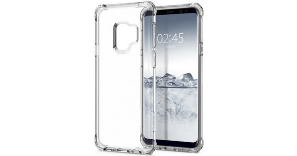 Spigen Rugged Armor Samsung Galaxy S9 Back Cover Transparant