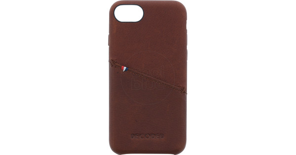 Decoded Leather Back Cover Apple iPhone 6/6s/7/8 Brown
