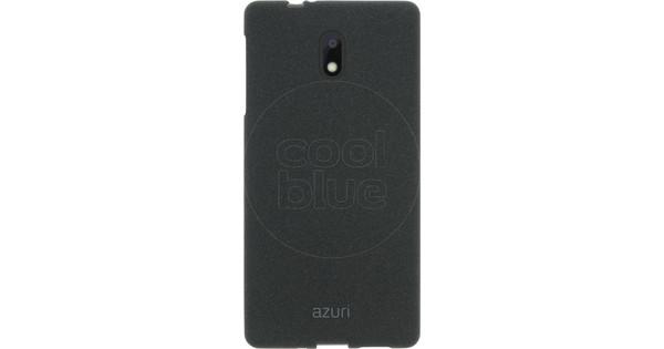 Azuri Flexible Sand Nokia 3 Back Cover Black
