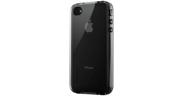 Belkin Grip Vue Case Black Apple iPhone 4