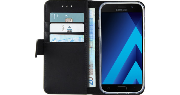 Azuri Wallet Magnetic Samsung Galaxy A5 (2017) Book Case Black