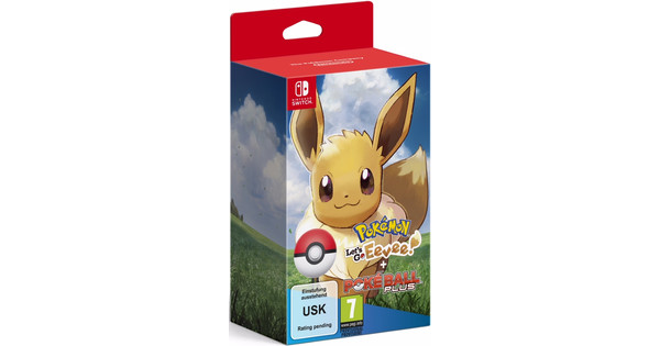 Pokemon Let's Go Eevee Switch + Poke Ball Plus Pack