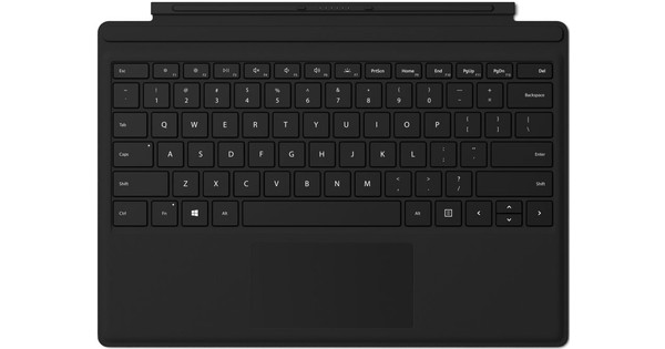 Microsoft Surface Go Type Cover QWERTY Zwart