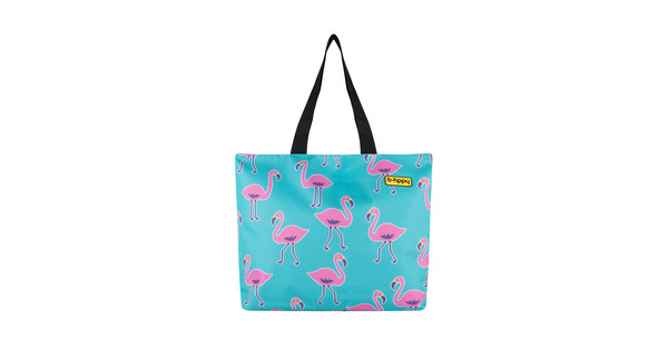 BHPPY Strandtas Go Flamingo