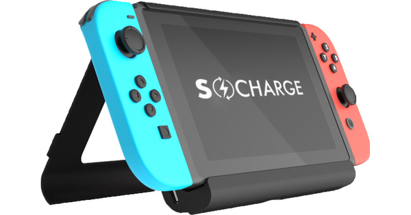 online store 52d99 3c6ad Go10 SwitchCharge Battery Case for Nintendo Switch