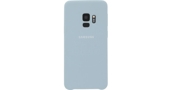 Samsung Galaxy S9 Silicone Back Cover Blue