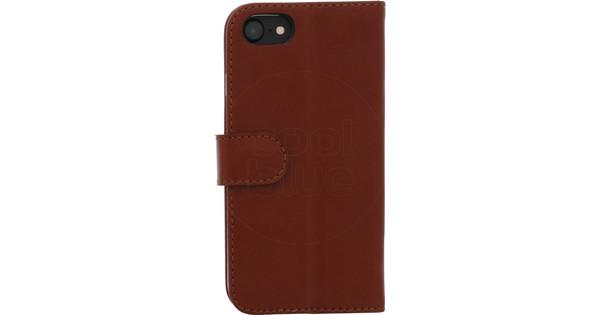 Valenta Booklet Classic Luxe Apple iPhone SE 2/8/7 Book Case Dark Brown