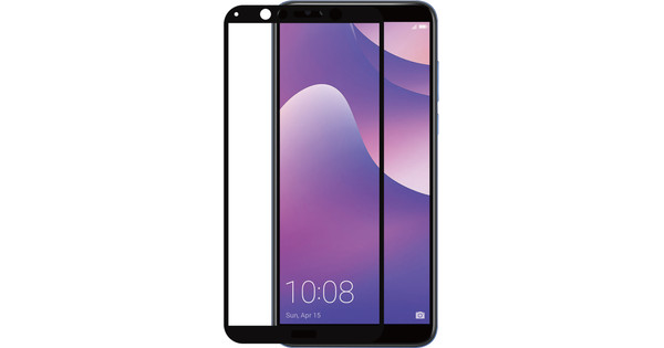 Azuri Huawei Y7 (2018) Screen Protector Tempered Glass Duo Pack