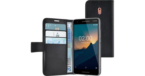 Azuri Wallet Magneet Nokia 2.1 Book Case Zwart