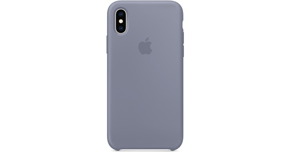differently 00fdb 0e20e Apple iPhone Xs Silicone Case Lavender Gray