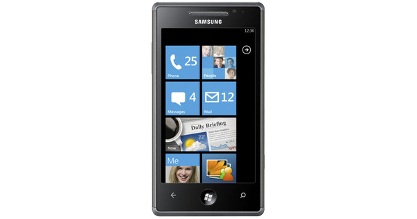 Samsung Omnia 7 I8700 Ebony Black
