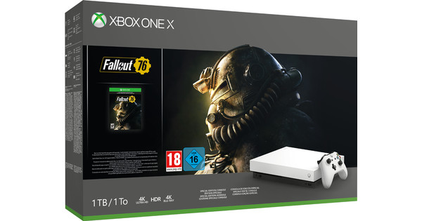 Xbox One X Special Edition Fallout 76 Bundel Wit