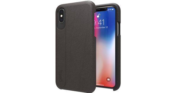 GEAR4 D3O Knightsbridge Apple iPhone X Back Cover Black