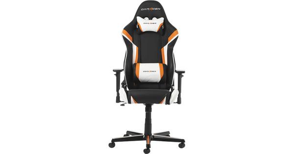 DXRacer Racing Gaming Chair Zwart/Oranje/Wit