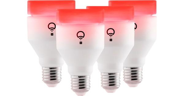 Lifx White Color Inclusief Infrarood Licht E27 4 Stuks Coolblue Voor 23 59u Morgen In Huis