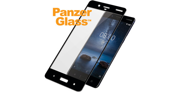 PanzerGlass Screen Protector Nokia 8 Black