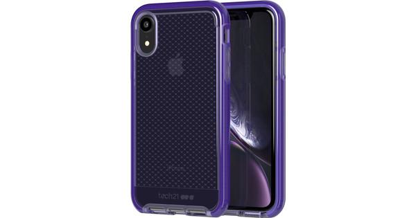 Tech21 Evo Check Apple iPhone XR Back Cover Purple