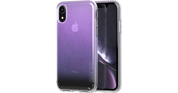 Tech21 Pure Shimmer Apple iPhone XR Back Cover Iridescent Pink