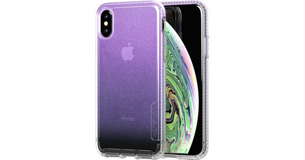 Tech21 Pure Shimmer Apple iPhone X / Xs Back Cover Iridescent Pink